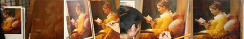 油彩画の描き方