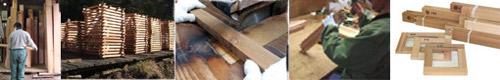 キャンバス木枠の製法