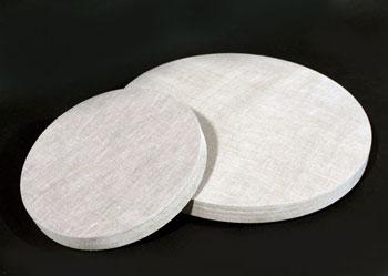 円形パネル・丸いパネル・布貼り・目止め・サイズ引き・側面貼り・包貼り・俵屋工房